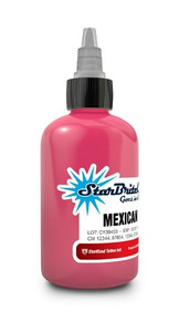 Starbrite Colors - Mexican Pink 1/2 Ounce Tattoo Ink Bottle