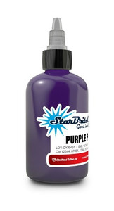 Starbrite Colors - Purple Purps 1/2 Ounce Tattoo Ink Bottle