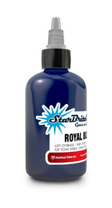 Starbrite Colors - Royal Blue 1/2 Ounce Tattoo Ink Bottle
