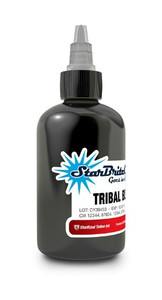 Starbrite Colors - Tribal Black 1/2 Ounce Tattoo Ink Bottle