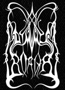 "Dimmu Borgir - Old School Logo 4x6"" Printed Patch"