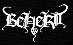 "Beherit - Logo 6x4"" Printed Patch"
