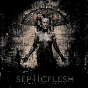 "Septic Flesh - A Fallen Temple 4x4"" Color Patch"