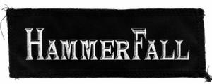 "Hammerfall - Logo 7x3"" Printed Patc"