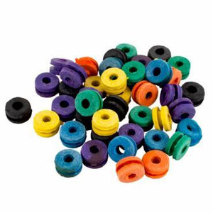 100 Rubber Grummets for Tattoo Machines
