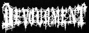 "Devourment - Logo 6x3"" Printed Patch"