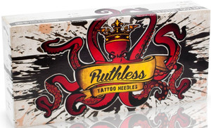 Ruthless Tattoo Needles In Different Sizes and Styles 50 per Box