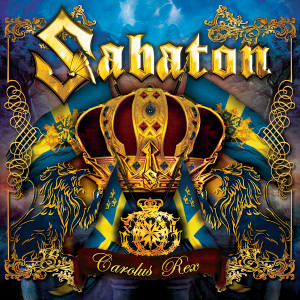 "Sabaton - Carolus Rex 4x4"" Color Patch"