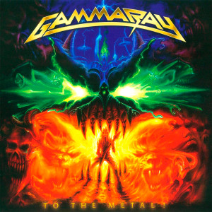 "Gamma Ray - To the Metal 4x4"" Color Patch"