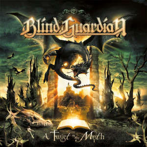 "Blind Guardian - A Twist in the Myth 4x4"" Color Patch"
