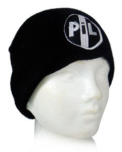 P.I.L. Logo Embroidered Knit Beanie