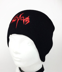 Sodom Embroidered Knit Beanie