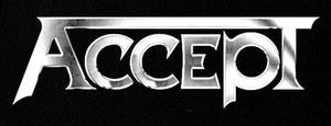 "Accept - Logo 7x3"" Printed Patch"