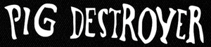 "Pig Destroyer - Logo 7x2"" Printed Patch"