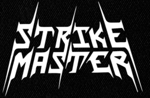 "Strike Master - Logo 6x4"" Printed Patch"