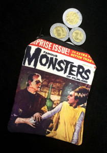 Go Rocker - Famous Monsters of Filmland Coin Purse
