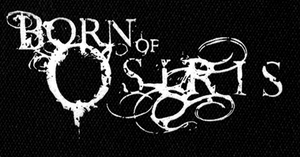 "Born of Osiris - Logo 6x3"" Printed Patch"