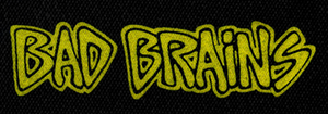 "Bad Brains - Logo 6x3"" Printed Patch"