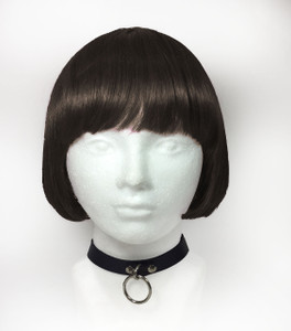 Leather Choker with O Ring