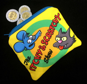 Go Rocker - Itchy and Scratchy Show Coin Purse