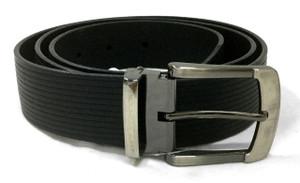 Black Engraved Belt