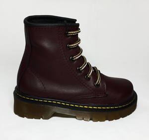 UPIABG - Wine Colored Kids Boots