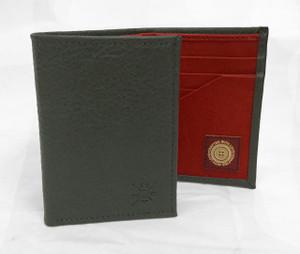 Grey Tri-Fold Wallet