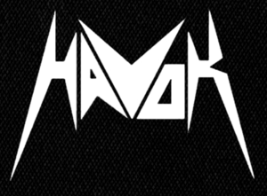 "Havok - Logo 4X5"" Printed Patch"
