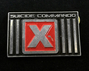 "Suicide Commando - Logo 2"" Metal Badge Pin"