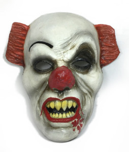 Pennywise the Clown Hard Face Mask