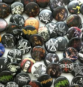 """Metal 20 1"""" Pin Surprise Grab Lot!"""