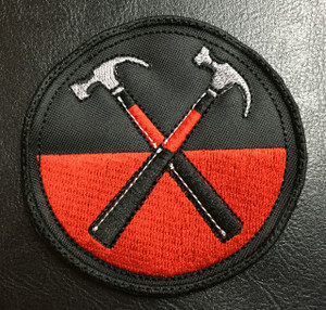"Pink Floyd - Hammers 3x3"" Embroidered Patch"