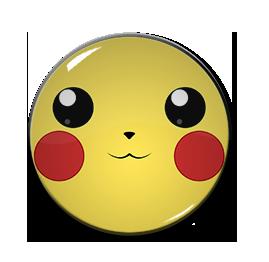"Pikachu 1.5"" Pin"