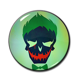 "Suicide Squad's The Joker 1.5"" Pin"