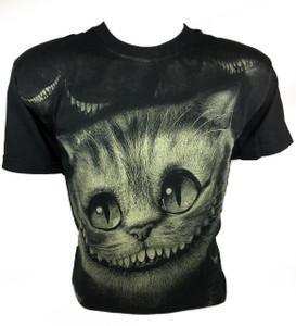 Alice in Wonderland's Cheshire Cat Full Print T-Shirt