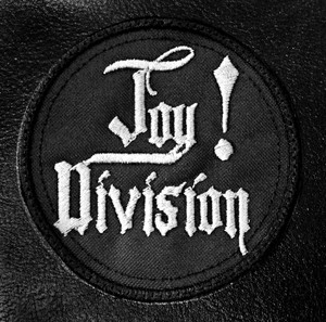 "Joy Division - Round Logo 3x3"" Embroidered Patch"