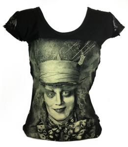 Resurrection - Alice in Wonderland's Mad Hatter Women's T-Shirt