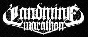 "Landmine Marathon - Logo 7x5"" Printed Patch"