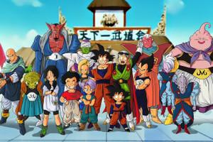 """Dragon Ball Z Magin Boo Saga 12x18"""" Poster"""