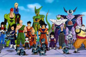 """Dragon Ball Z Cell Saga 12x18"""" Poster"""