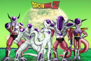 "Dragon Ball Z Frezia Stages 12x18"" Poster"