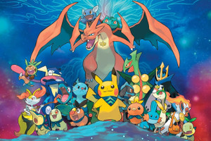 "Pokemon Super Mistery Dungeon 12x18"" Poster"
