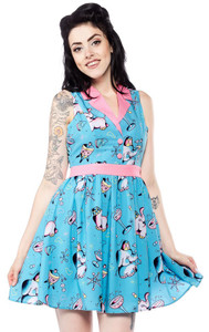Sourpuss - Elephants June Dress
