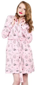 Sourpuss - Betty Page Motel Robe