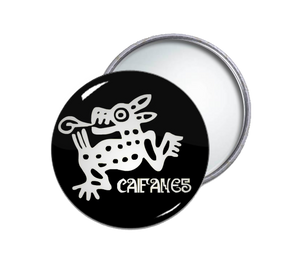 Caifanes Round Pocket Mirror