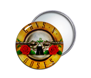Guns N' Roses - Logo Round Pocket Mirror