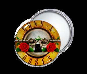 Guns N' Roses - Logo Round Pocket Mirror