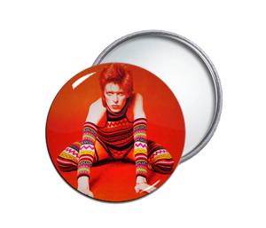 David Bowie Pocket Mirror