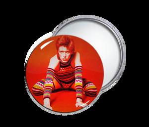 David Bowie Pocket Mirror