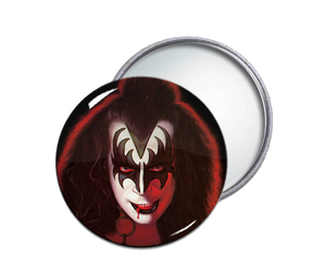 Kiss' Gene Simmons Pocket Mirror